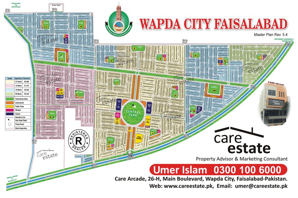 Wapda City Faisalabad House For Rent